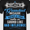They Call Me Grandad Partner In Crime Funny - Men's T-Shirt