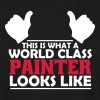 world class painter - Men's T-Shirt