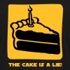 The Cake is a Lie - T-shirt Homme