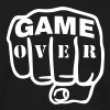 Game over | Fist | Faust - Men's T-Shirt