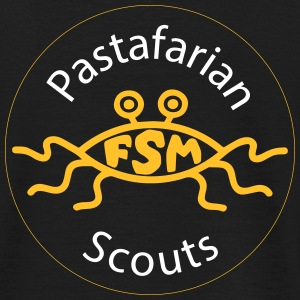 Pastafarian Scouts Orange - T-skjorte for menn