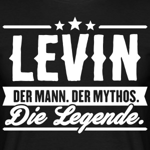 Man Myth Legend Levin - T-shirt Homme