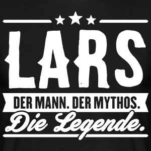 Man Myth Legend Lars - T-skjorte for menn