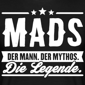 Man Myth Legend Mads - T-shirt herr