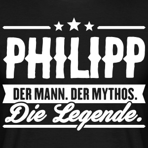 Man Myte Legend Philipp - Herre-T-shirt