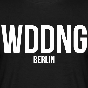 WEDDING BERLIN - Männer T-Shirt