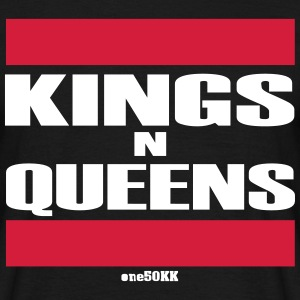 Kings n Queens - T-shirt herr