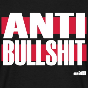 anti bullshit - Herre-T-shirt