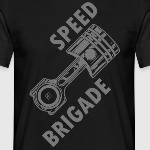 Speed ​​brigade - T-skjorte for menn