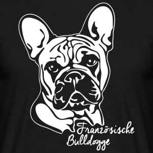 FRENCH BULLDOG PORTRAIT - Men's T-Shirt