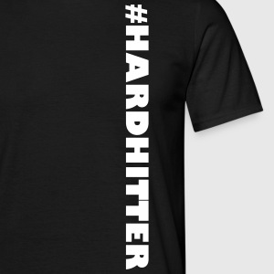 #HARDHITTER - Men's T-Shirt