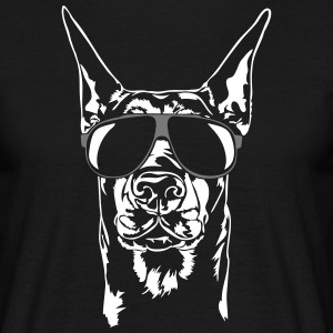Cool Doberman - Doberman Pinscher - Men's T-Shirt