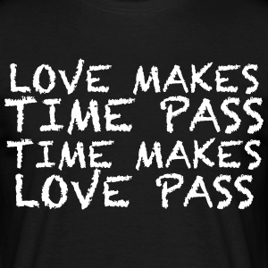 MAKE LOVE - Herre-T-shirt