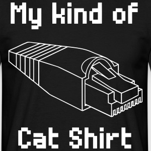 my kind of cat shirt - Men's T-Shirt