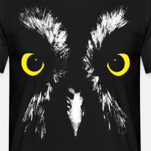 Owl Face Graphic T-Shirt