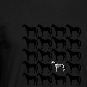 chevaux - T-shirt Homme