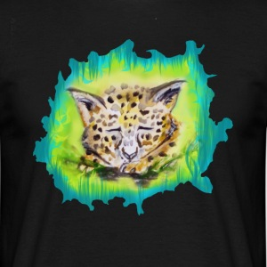 barn jaguar - T-shirt herr