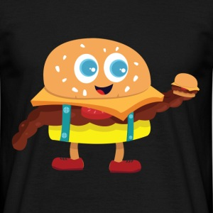 Cute Burger - T-skjorte for menn