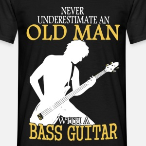 Never Underestimate An Old Man With A Bass Guitar