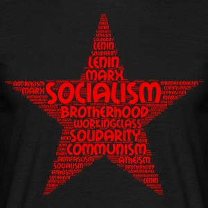 socialism word cloud - Men's T-Shirt