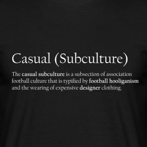 Football Casual Subculture white