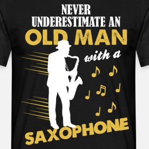 Never Underestimate An Old Man With A Saxophone