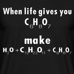 chemistry - Men's T-Shirt