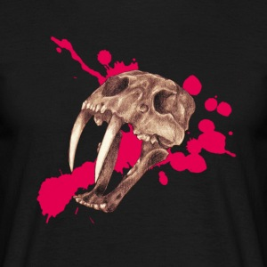 Tiger from saber teeth - Men's T-Shirt