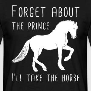 I love my horse gift / design - Men's T-Shirt