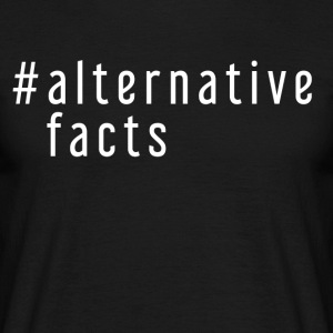 ALTERNATIVE FAKTA - Herre-T-shirt
