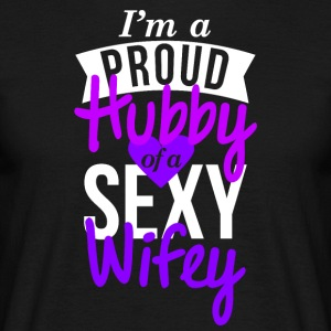 Hubby Design Proud couple t-shirt - T-shirt Homme