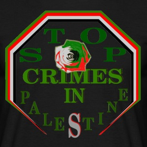 Stop crimes in PALESTINE.