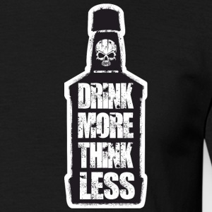 Triad Kings Drink More Print. - Herre-T-shirt
