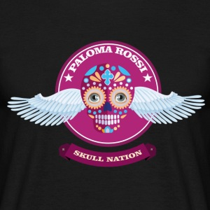 Paloma Rossi - Flying Skull Limited Edition - T-shirt Homme