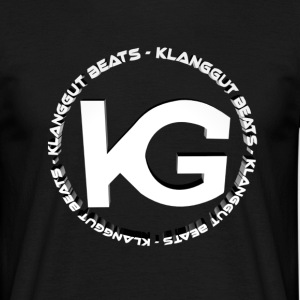 KlangGut_Beats_Logo 3D - Men's T-Shirt