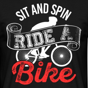 Sit Spin Bike - T-shirt Homme