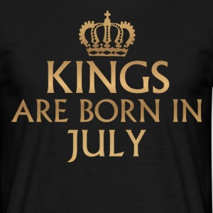 Kings July birthday - Men's T-Shirt