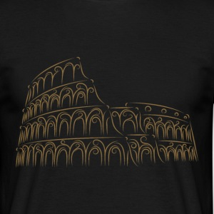 Wonder of the World 2 - Colosseum - T-skjorte for menn