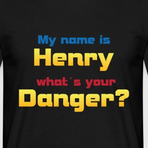 My name is Henry...? - Männer T-Shirt
