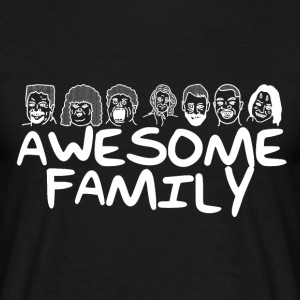 Awesome familie <3 - Herre-T-shirt