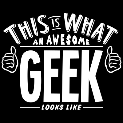 awesome geek looks like pro design