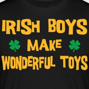 Funny Irish Boys Make Wonderful Toys - Men's T-Shirt