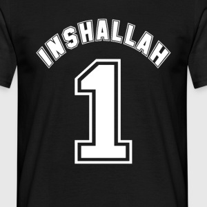Inshallah - Men's T-Shirt