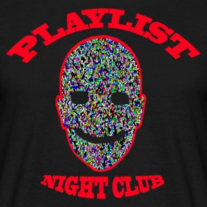 Playlist Club Smiley - T-shirt Homme