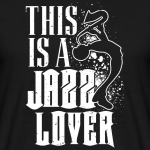 Jazz lover - Men's T-Shirt