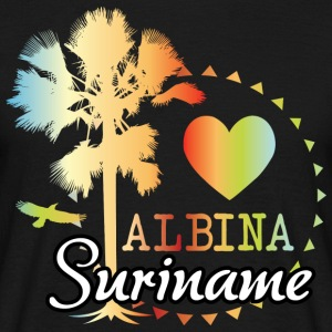 I Love Albina - T-skjorte for menn