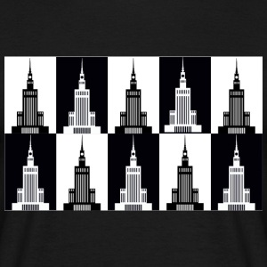 Palace of Culture and Science in Warsaw - Men's T-Shirt