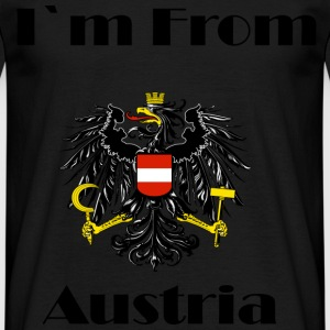 I love Austria - Men's T-Shirt