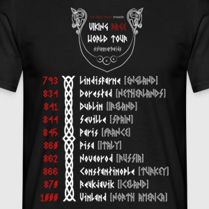Viking Tour - Herre-T-shirt
