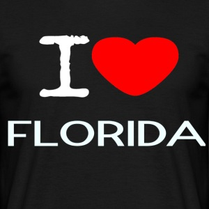 I LOVE FLORIDA - Männer T-Shirt